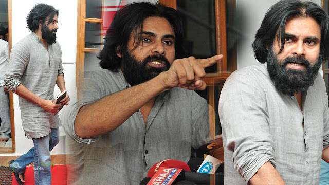 Pawan Kalyan Press Meet HD images