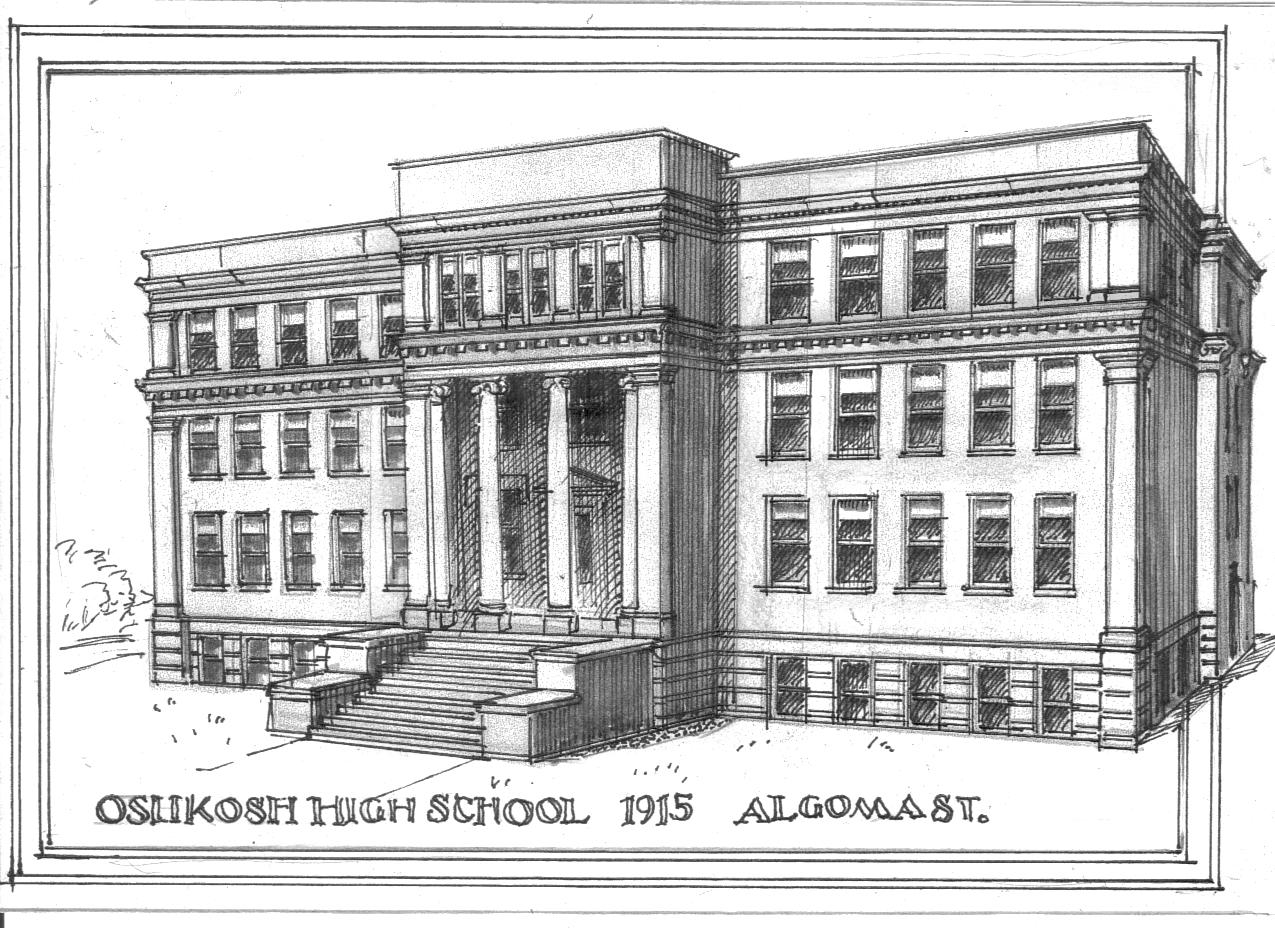 William Waters Oshkosh Architect: Oshkosh Schools 1901 to 1916