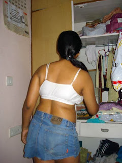Chatpati Jawani Image: moti-bhabhi-in-white-bra-housewife