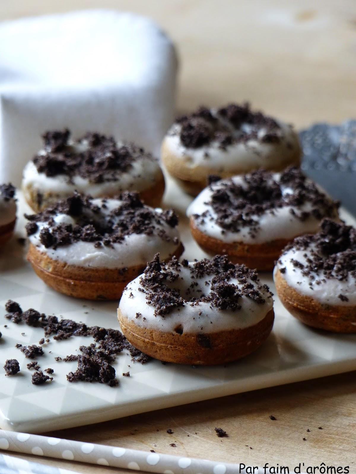 Donuts aux Oréos