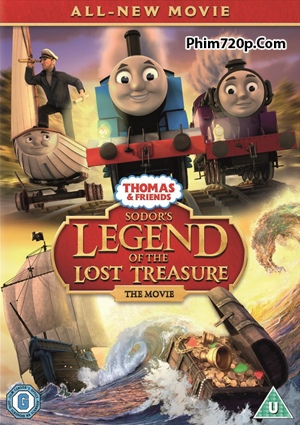 Thomas And Friends: Sodor Legend Of The Lost Treasure 2015 poster