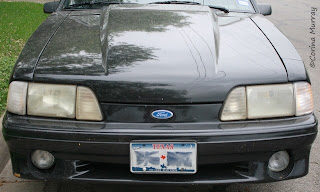 1987 Mustang 5.0 with 6 Piece Headlights