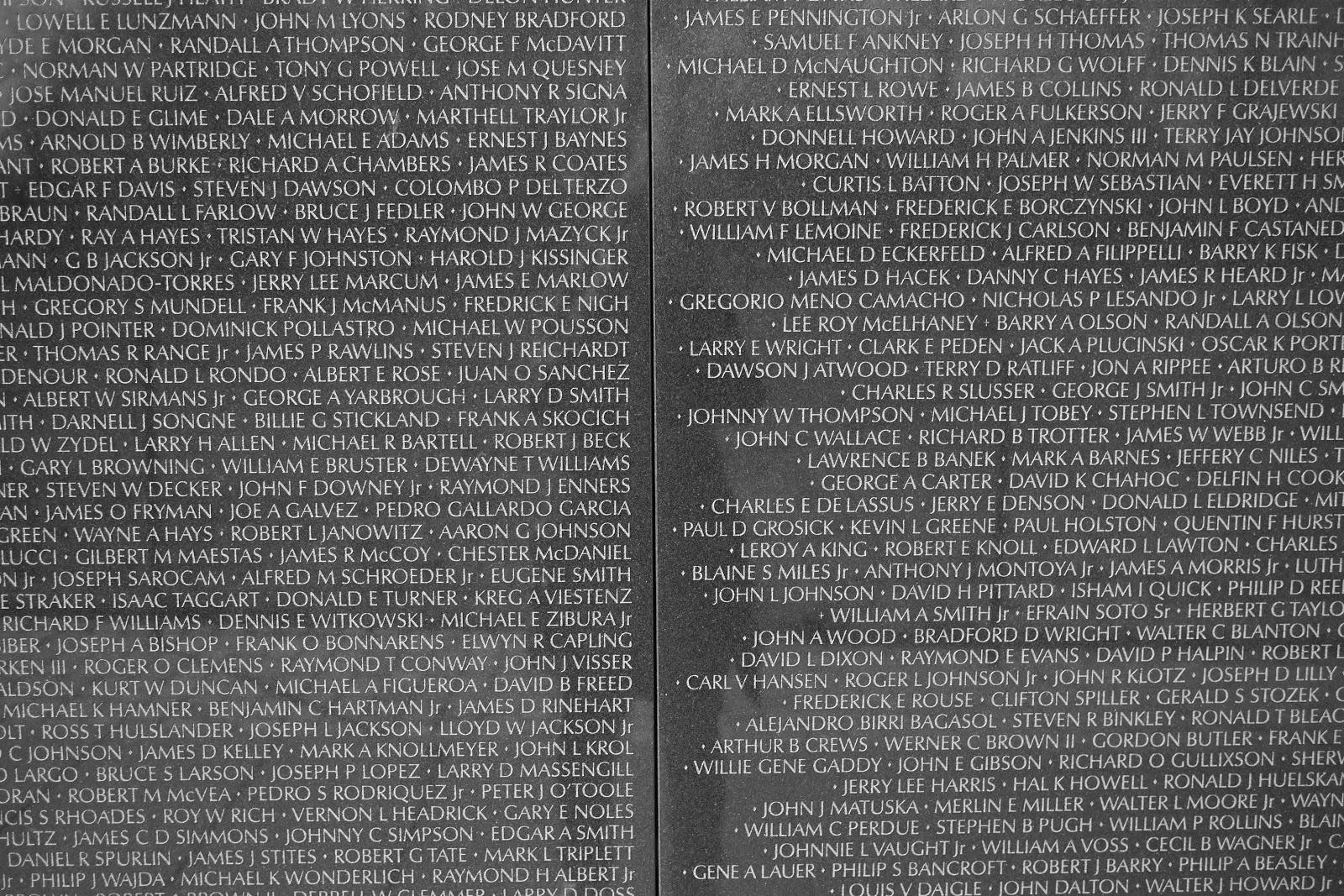 Foreigner The Vietnam Veterans Memorial