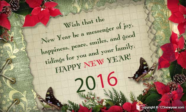 happy new year 2016 ecards