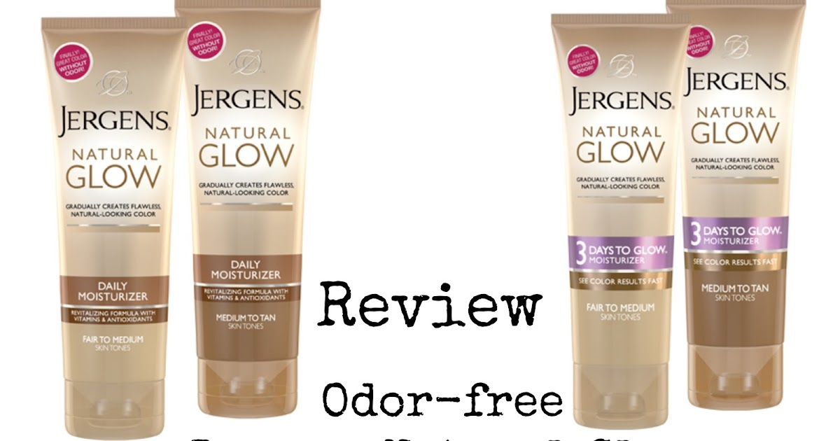 Jergens Natural Glow Body Lotion On Face
