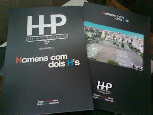 """Livro """"Homens com dois H's"""""""