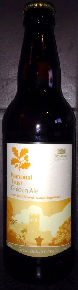 National Trust Golden Ale (Delavals Master Brewers)