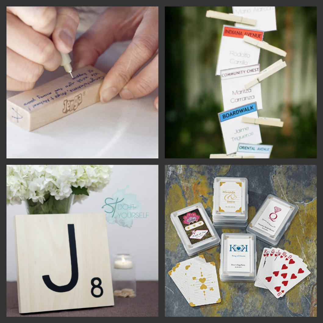 weddings are fun blog  how to have a game themed wedding