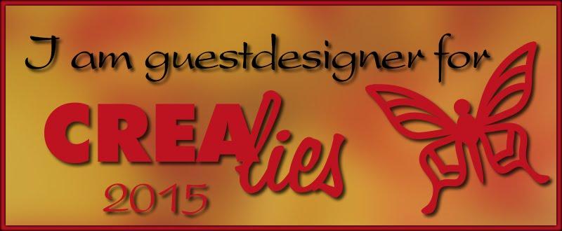 Guest Designer for Crealies 2015/2016