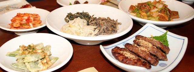 Cocina coreana muy sana en el restaurante Yakseondang