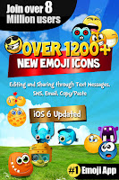 Emoji 2 Emoticons Free + Photo Collage - 300+ New Symbols & Icons