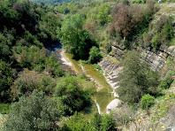 Vista de la Riera de Les Paganes en direcció nord-est