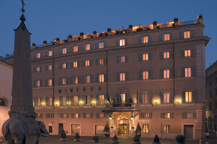 Alexandra d foster destinations perfected rome italy for Grand hotel rome