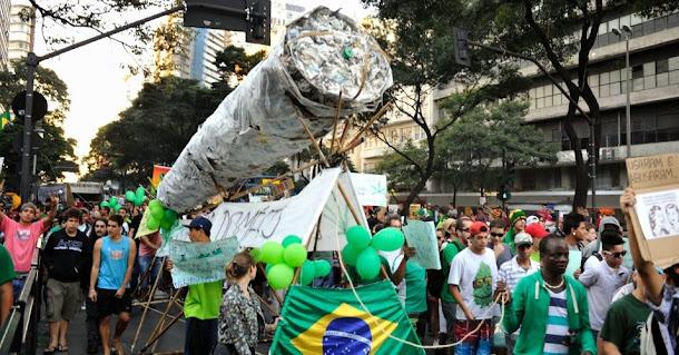 Legalização da maconha no Brasil Jah!