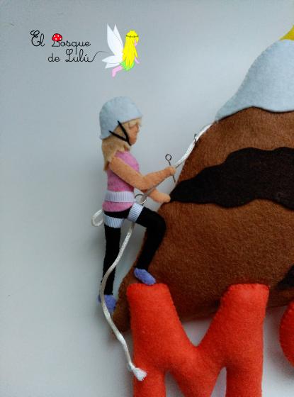 escaladora-en-fieltro-de-fieltro-montaña-decoración-regalo-personalizado
