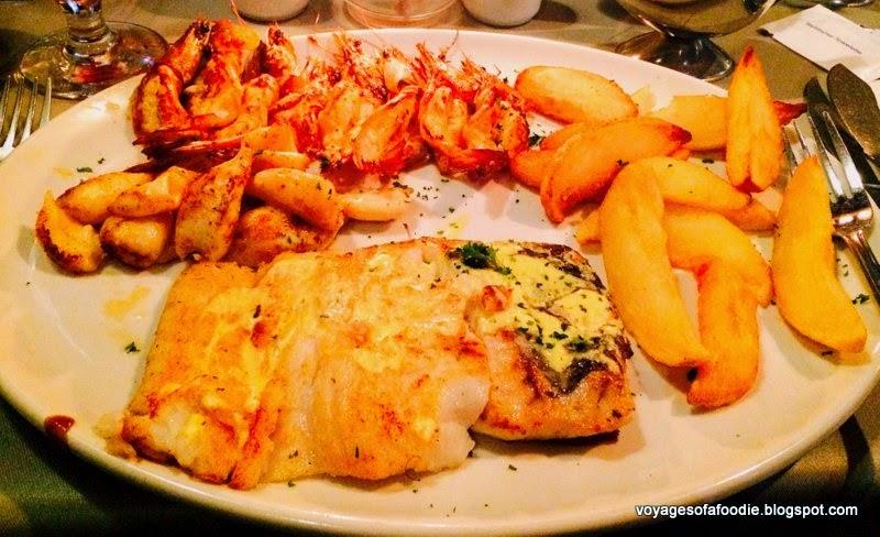 Fahrenheit Seafood & Grill - Prawn, calamari & hake