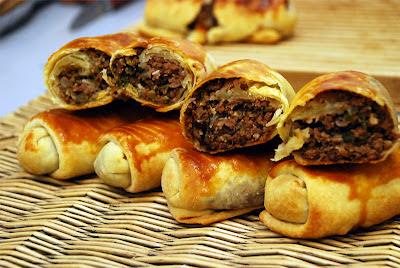 Cevizli Kıymalı Osmanlı Böreği