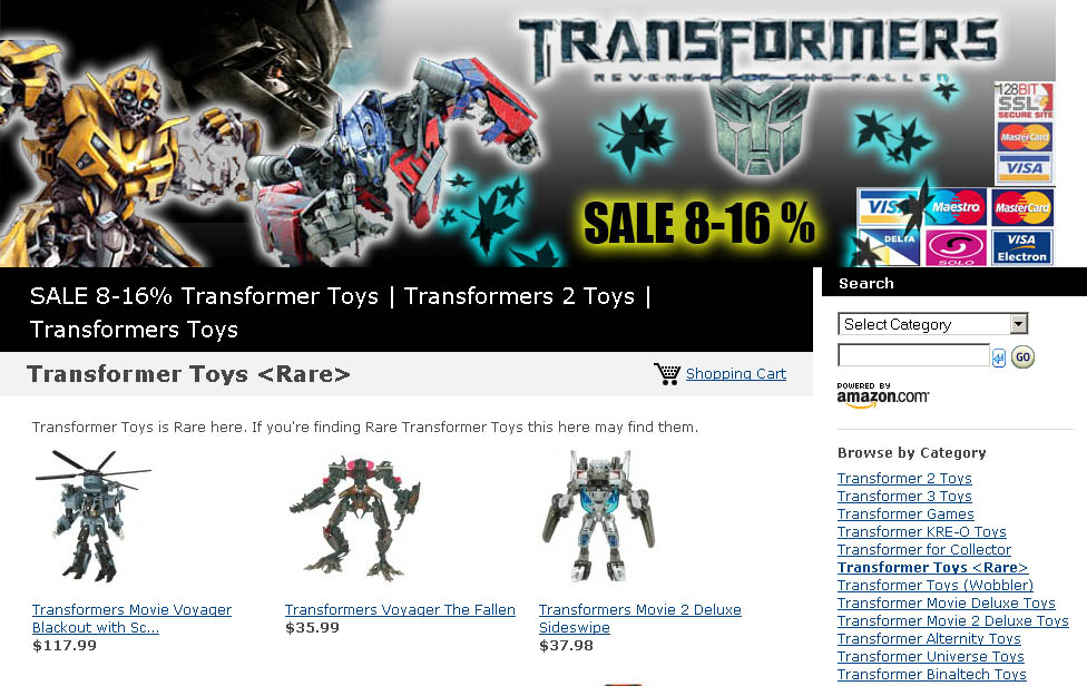 Transformer Toys Store