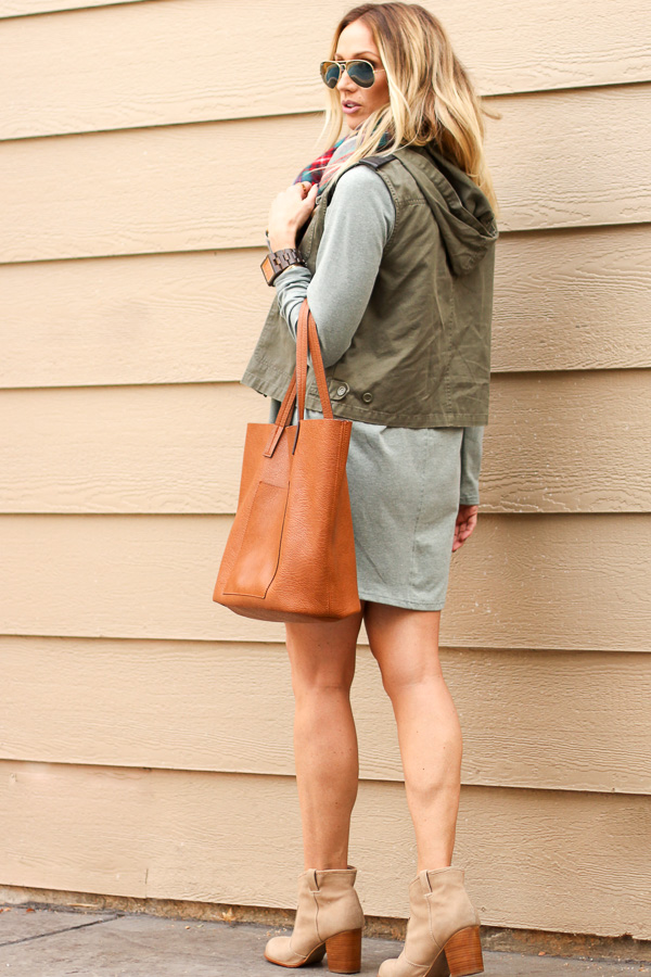 booties and vest fall style parlor girl