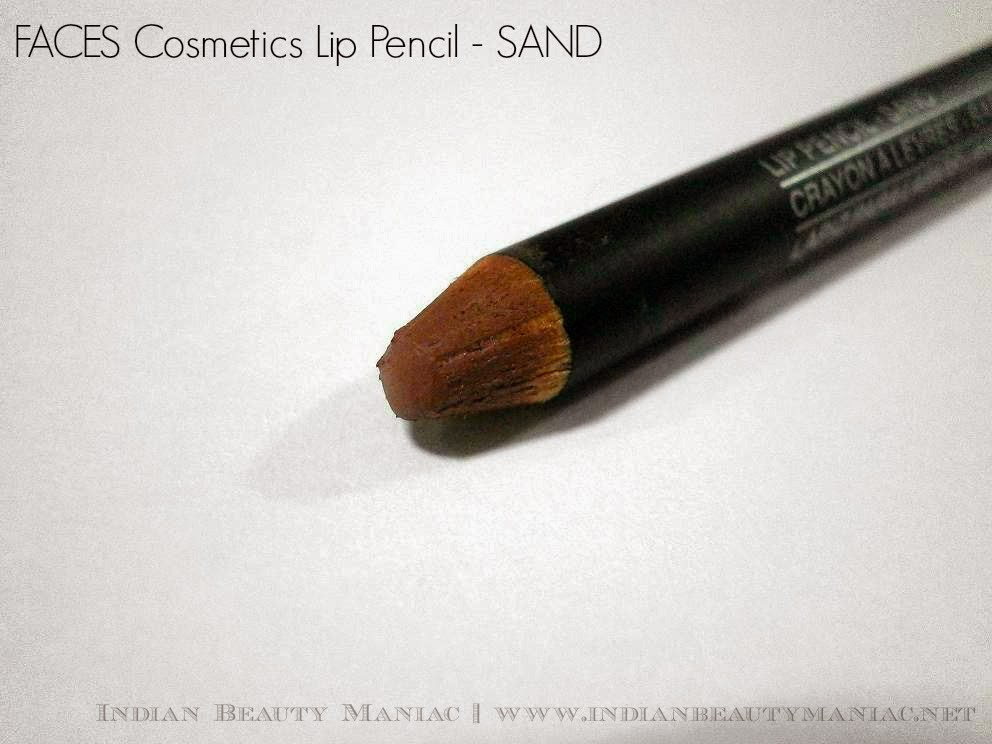Faces Cosmetics Lip Pencil in Sand