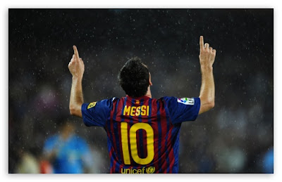 Lionel Messi European Golden Boot 2012