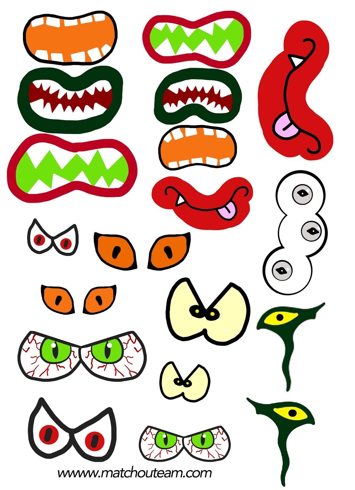 Ma tchou team marionnette petit monstre - Images de monstres rigolos ...