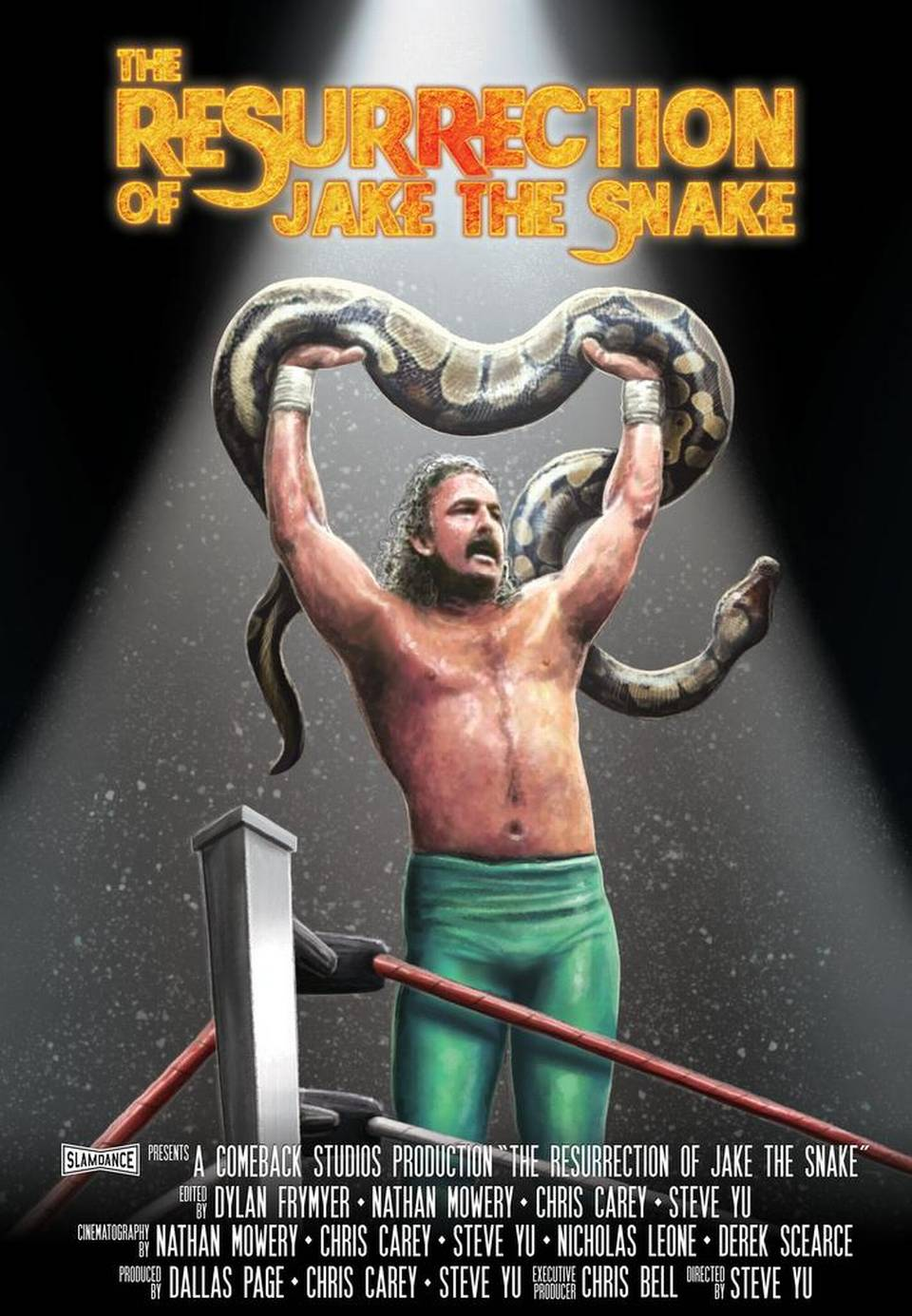 The Resurrection of Jake the Snake (2015)