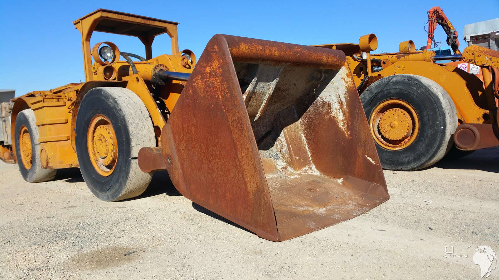 Load Haul Dumpers used GHH LF Serie