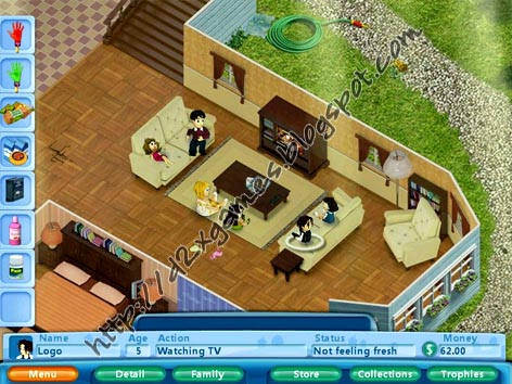 Free Download Games - Virtual Families