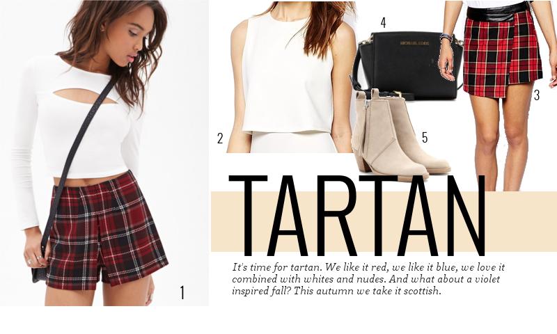 3 ways to wear... Tartan