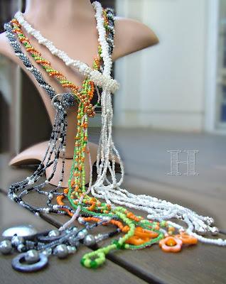 Crochet Rope Lariats - ClearlyHelena