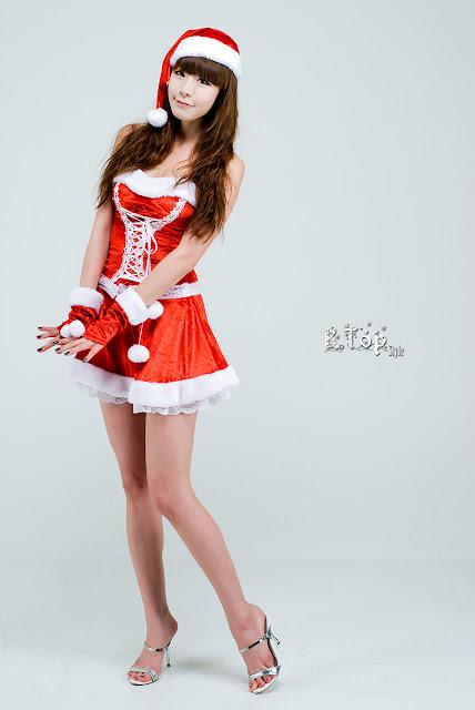 KoreanGirls-Lee Jong Bin - Sexy Christmas Girl