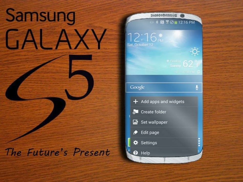 Samsung Galaxy S5 Full Specifications and Samsung Galaxy S5 DESIGN