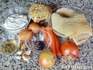 Ciorba de burta ingrediente reteta