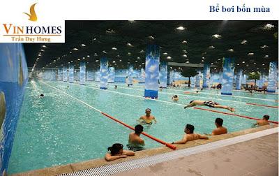 Bể bơi lớn nhất Hà Nội