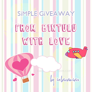 Simple Giveaway From Bintulu With Love