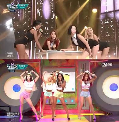 SISTAR M!Countdown�da Comeback Yapt� /// 26 Haziran 2015