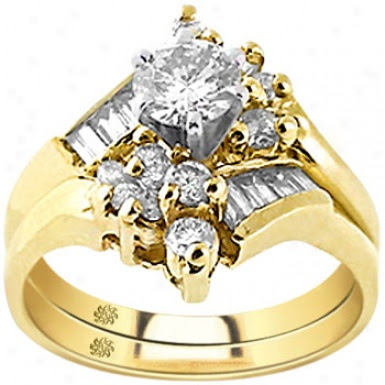 yellow gold wedding rings for women