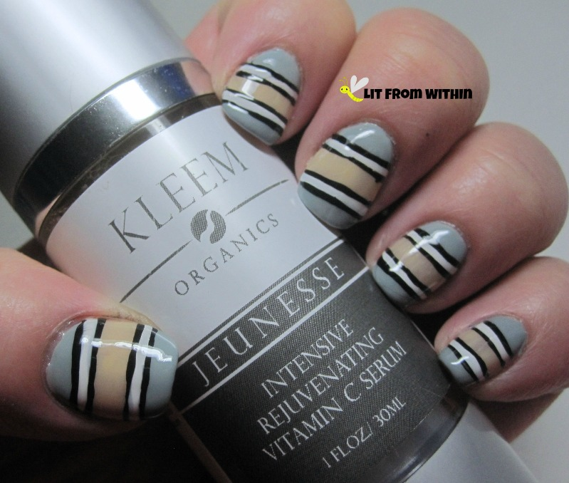 Kleem-inspired nailart