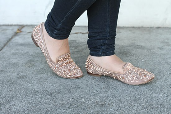 Pink Spiked Adina Sam Edelman Loafers