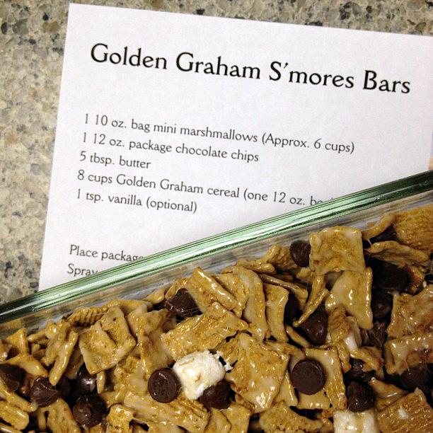 Rogers Family Recipes: Golden Graham S'mores Bars