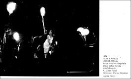 LAS LANZAS COLORADAS,  de Arturo Uslar Pietri, adaptación Napoleón Bravo, dirección Carlos Giménez