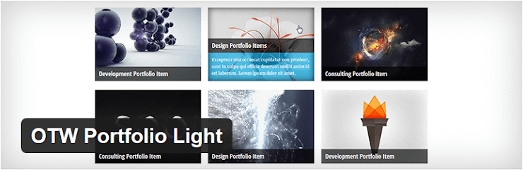 OTW Portfolio Light plugin