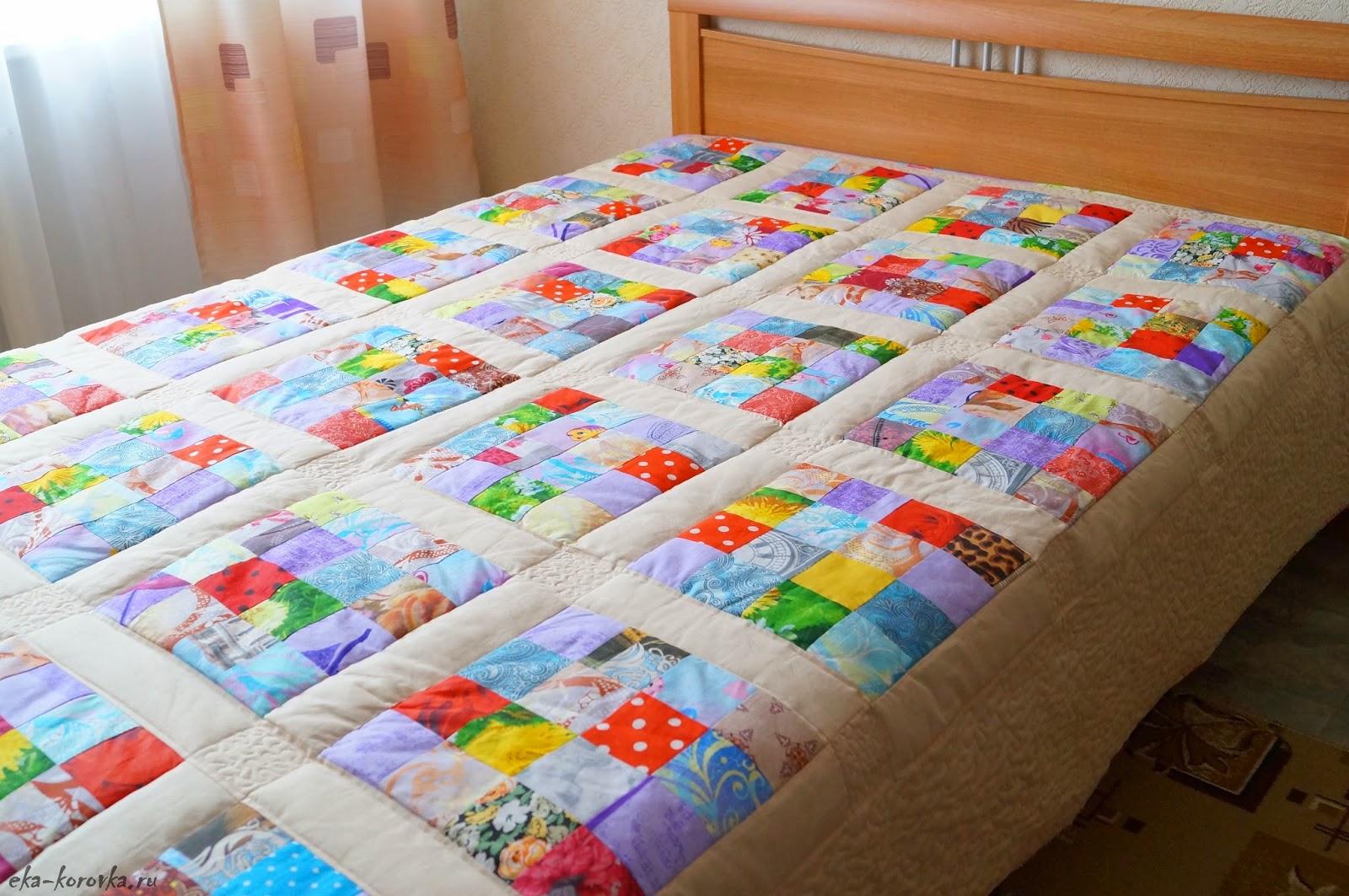 Как сшить ватное одеяло своими руками