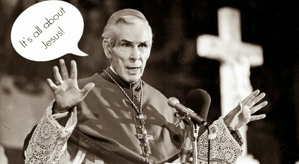 Fulton Sheen clarifying