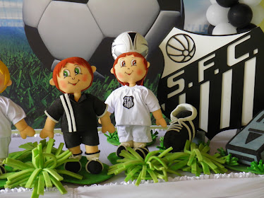Festa Futebol - Santos