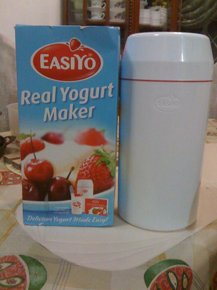 how to make yogurt with easiyo maker