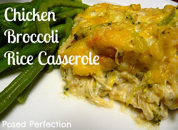 Posed Perfection: Chicken Broccoli Rice Casserole