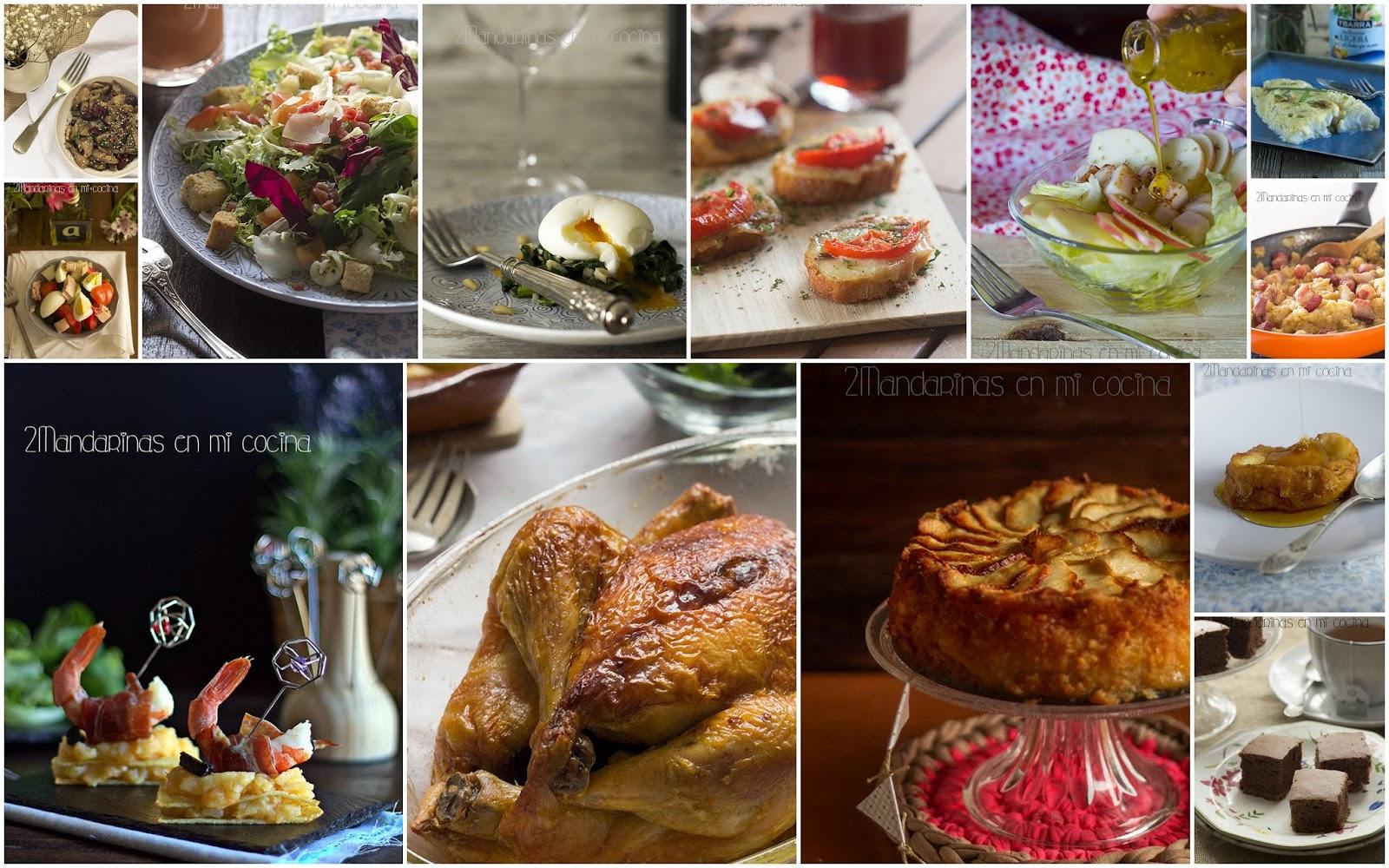 Las 12 recetas más vistas en 2014