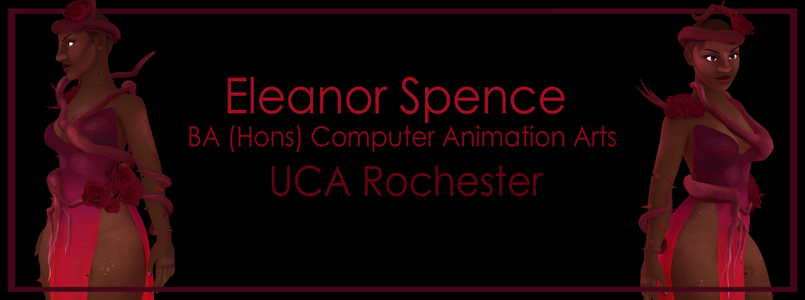 Eleanor Spence - BA (Hons) Computer Animation Arts, UCA Rochester
